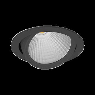 Afbeelding van Britelight Caleo O45 - 4850lm/930 F5 ZWART
