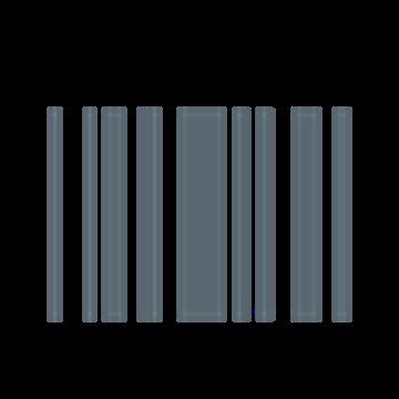 Afbeeldingen van OCAB Inbouw armatuur Ligne 4R